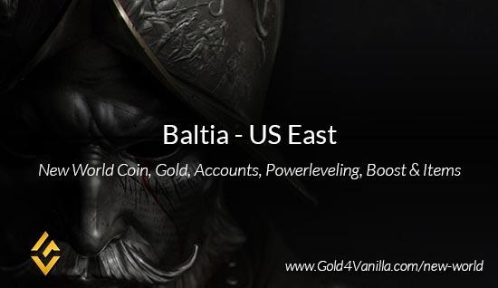 Baltia Coins. Buy New World Baltia Gold Coins. NW Baltia Coin and level 60 accounts for sale.