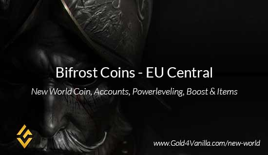 Bifrost Coins. Buy New World Bifrost Gold Coins. NW Bifrost Coin and level 60 accounts for sale.