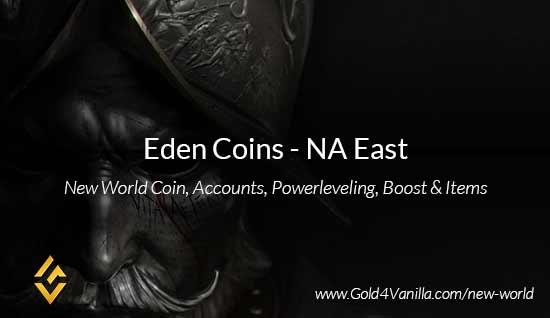 Eden Coins. Buy New World Eden Gold Coins. NW Eden Coin and level 60 accounts for sale.