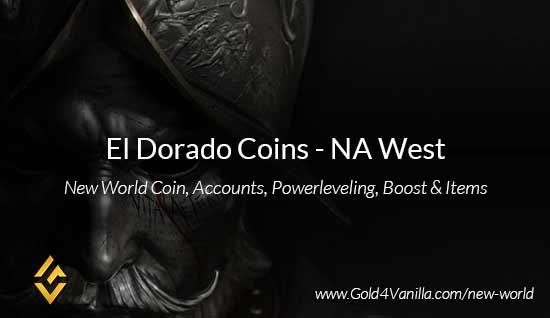 El Dorado Coins. Buy New World El Dorado Coins. NW El Dorado Coin and level 60 accounts for sale.