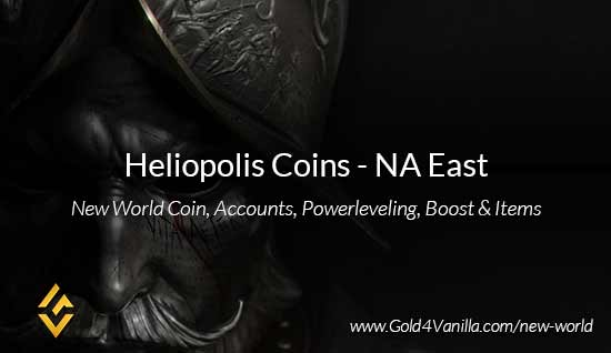 Heliopolis Coins. Buy New World Heliopolis Coins. NW Heliopolis Coin and level 60 accounts for sale.