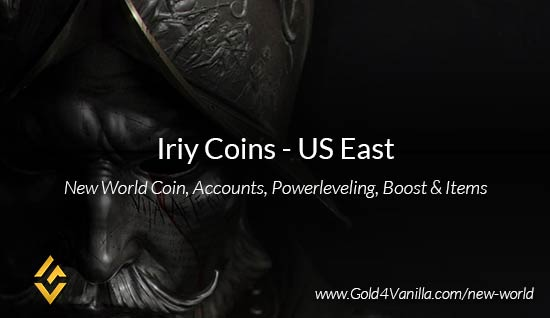 Iriy Coins. Buy New World Iriy Gold Coins. NW Iriy Coin and level 60 accounts for sale.