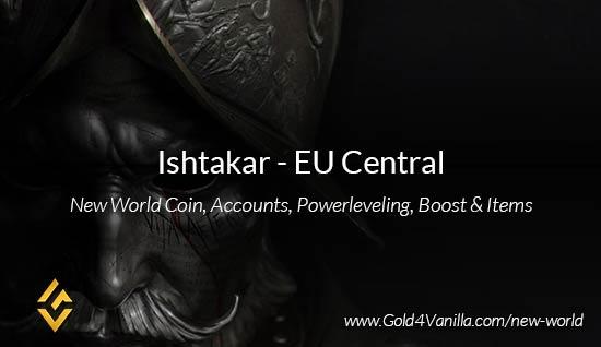 Ishtakar Coins. Buy New World Ishtakar Gold Coins. NW Ishtakar Coin and level 60 accounts for sale.