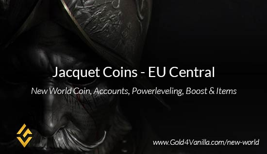 Jacquet Coins. Buy New World Jacquet Gold Coins. NW Jacquet Coin and level 60 accounts for sale.