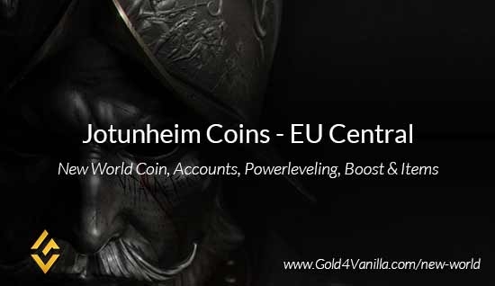 Jotunheim Coins. Buy New World Jotunheim Gold Coins. NW Jotunheim Coin and level 60 accounts for sale.