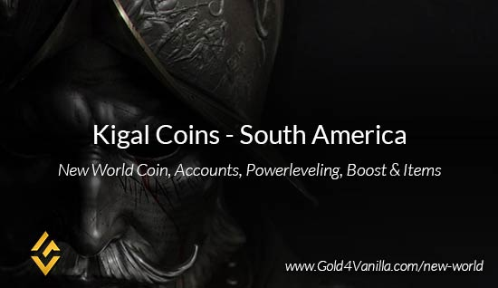 Kigal Coins. Buy New World Kigal Gold Coins. NW Kigal Coin and level 60 accounts for sale.