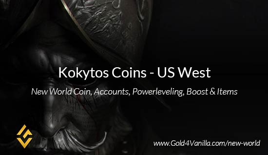 Kokytos Coins. Buy New World Kokytos Gold Coins. NW Kokytos Coin and level 60 accounts for sale.
