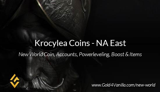 Krocylea Coins. Buy New World Krocylea Gold Coins. NW Krocylea Coin and level 60 accounts for sale.