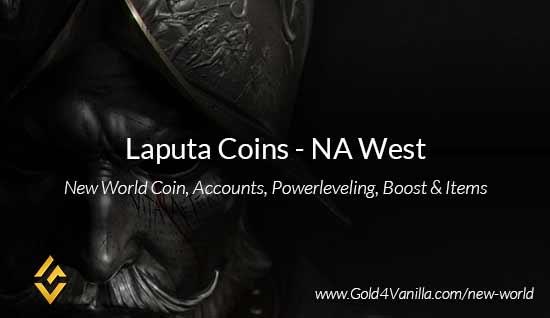 Laputa Coins. Buy New World Laputa Gold Coins. NW Laputa Coin and level 60 accounts for sale.