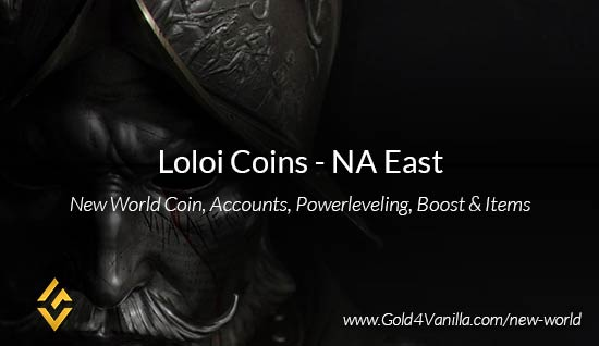 Loloi Coins. Buy New World Loloi Gold Coins. NW Loloi Coin and level 60 accounts for sale.