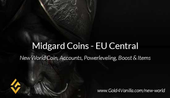 Midgard Coins. Buy New World Midgard Gold Coins. NW Midgard Coin and level 60 accounts for sale.