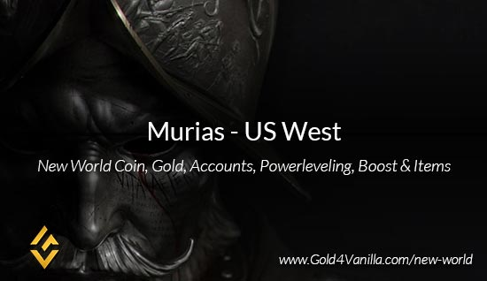 Murias Coins. Buy New World Murias Gold Coins. NW Murias Coin and level 60 accounts for sale.