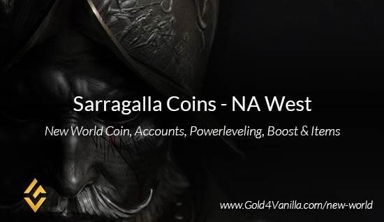 Sarragalla Coins. Buy New World Sarragalla Gold Coins. NW Sarragalla Coin and level 60 accounts for sale.