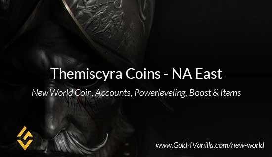 Themiscyra Coins. Buy New World Themiscyra Gold Coins. NW Themiscyra Coin and level 60 accounts for sale.