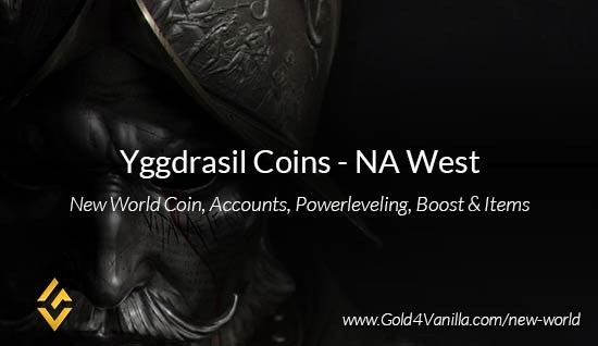 Yggdrasil Coins. Buy New World Yggdrasil Gold Coins. NW Yggdrasil Coin and level 60 accounts for sale.