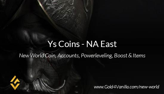 Ys Coins. Buy New World Ys Gold Coins. NW Ys Coin and level 60 accounts for sale.