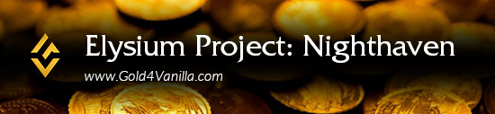 Elysium Project Nighthaven Gold & Accounts
