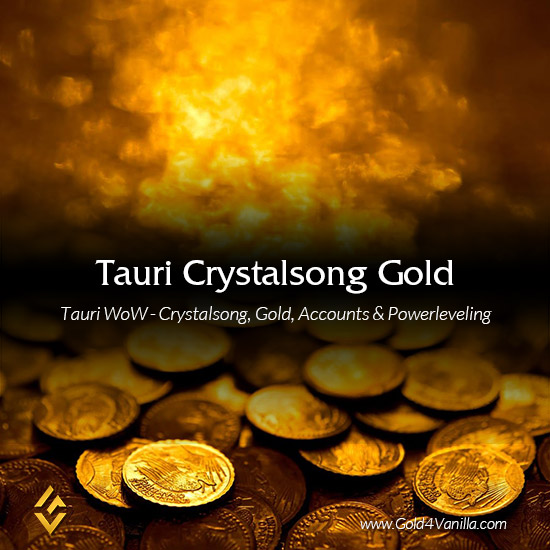 Buy Tauri Crystalsong Gold & Accounts