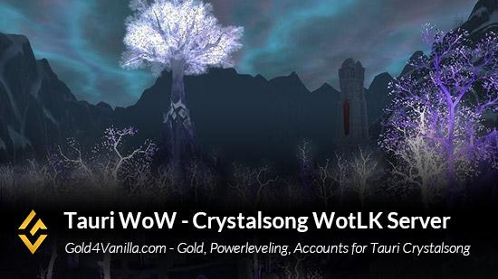 Tauri Crystalsong Server Info