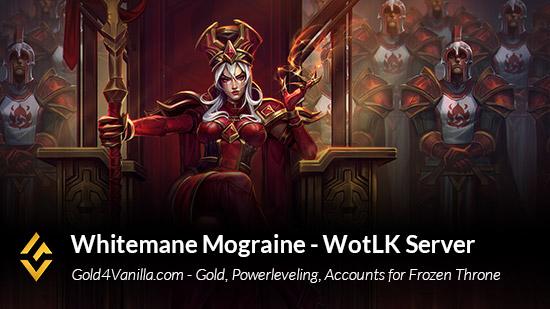 Whitemane Mograine Server Info