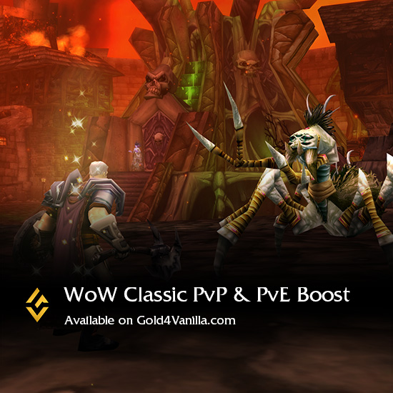Buy PvP or PvE / Reputation Boost for WoW Classic EU/US