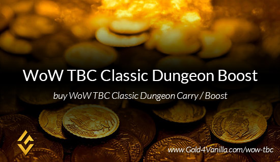 Dungeon Boost for WoW TBC Classic