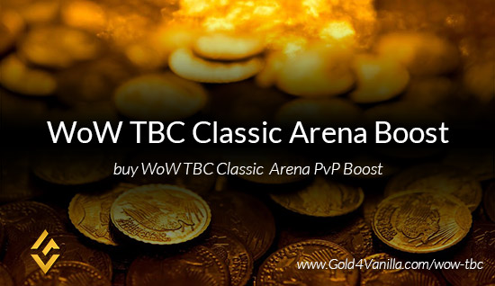 Arena Boost for WoW TBC Classic PvP