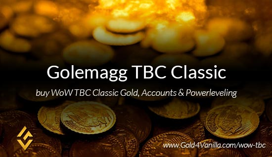 Buy Gold for Golemagg TBC Classic EU. Accounts, Powerleveling and Boost Services for Golemagg TBC