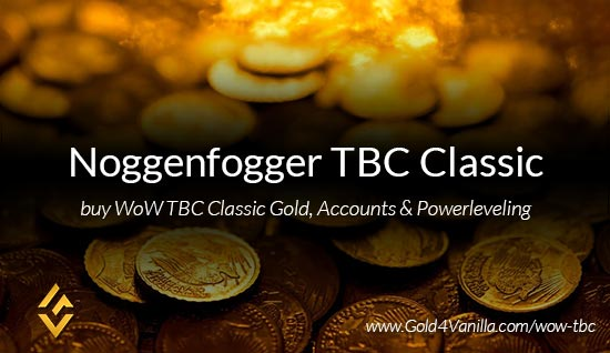 Buy Gold for Noggenfogger TBC Classic EU. Accounts, Powerleveling and Boost Services for Noggenfogger TBC