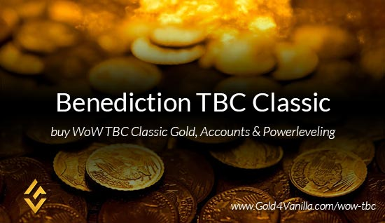 Buy Gold for Benediction TBC Classic US. Accounts, Powerleveling and Boost Services for Benediction TBC