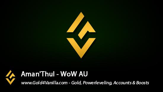 Realm Information for Aman'Thul AU - WoW Shadowlands / BFA -