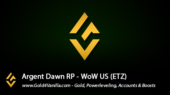Realm Information for Argent Dawn US - WoW Shadowlands / BFA -