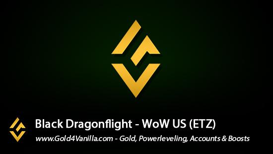 Realm Information for Black Dragonflight US - WoW Shadowlands / BFA -