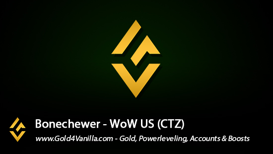 Realm Information for Bonechewer US - WoW Shadowlands / BFA -