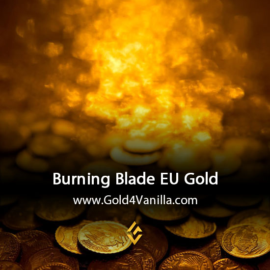 Gold, Power Leveling, Boosts, PvP, Quests and Achievements for Burning Blade EU Realm - WoW Shadowlands / BFA - High PoP