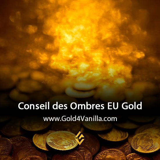 Gold, Power Leveling, Boosts, PvP, Quests and Achievements for Conseil des Ombres EU Realm - WoW Shadowlands / BFA - High PoP