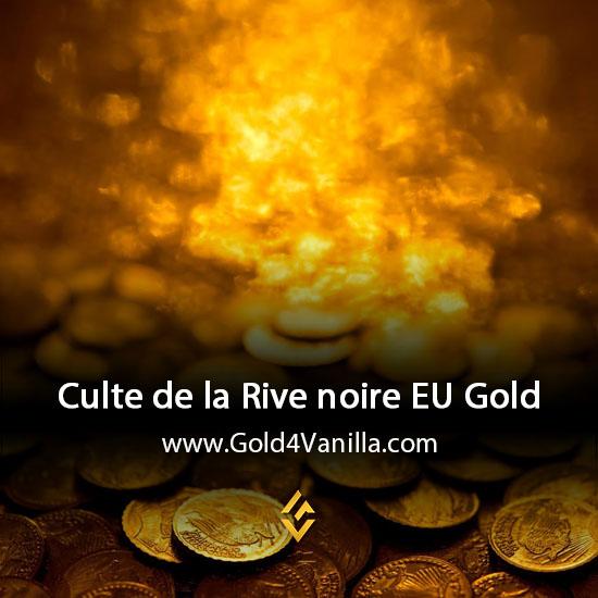 Gold, Power Leveling, Boosts, PvP, Quests and Achievements for Culte de la Rive noire EU Realm - WoW Shadowlands / BFA - High PoP