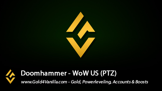 Realm Information for Doomhammer US - WoW Shadowlands / BFA -