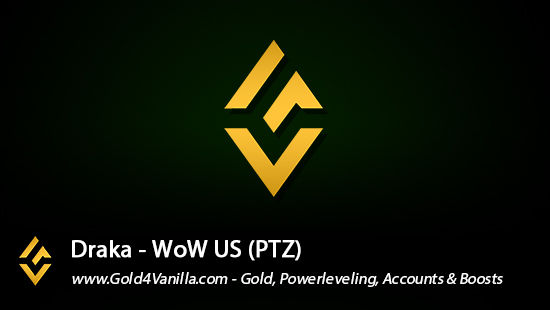 Realm Information for Draka US - WoW Shadowlands / BFA -