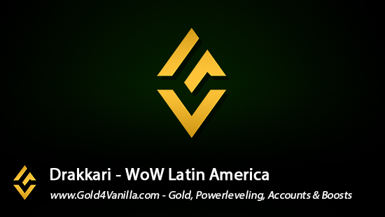 Realm Information for Drakkari LA - WoW Shadowlands / BFA -