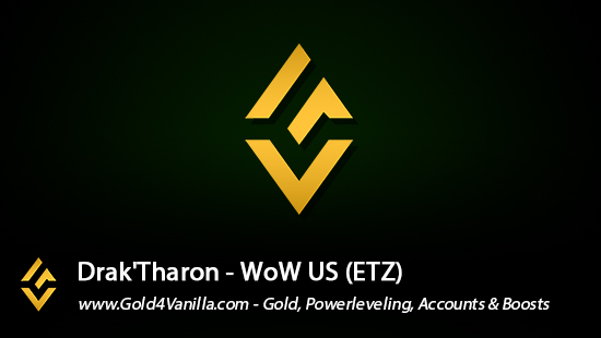 Realm Information for Drak'Tharon US - WoW Shadowlands / BFA -
