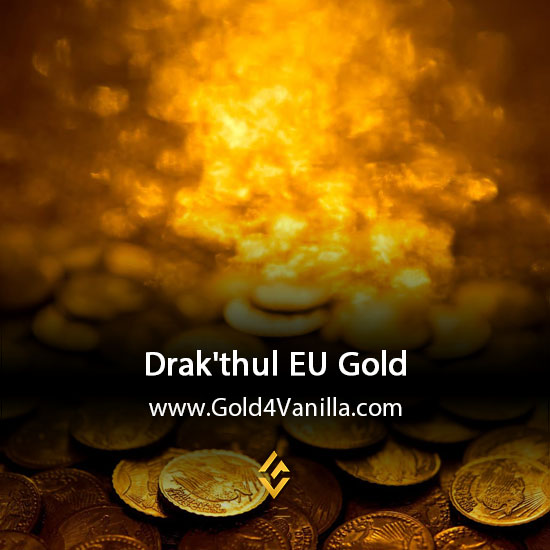 Gold, Power Leveling, Boosts, PvP, Quests and Achievements for Drak'thul EU Realm - WoW Shadowlands / BFA - High PoP
