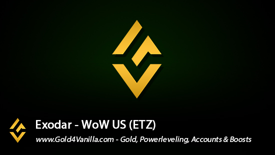Realm Information for Exodar US - WoW Shadowlands / BFA -