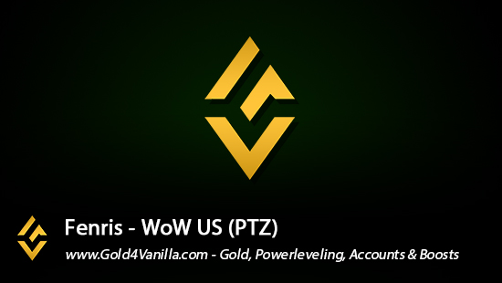 Realm Information for Fenris US - WoW Shadowlands / BFA -