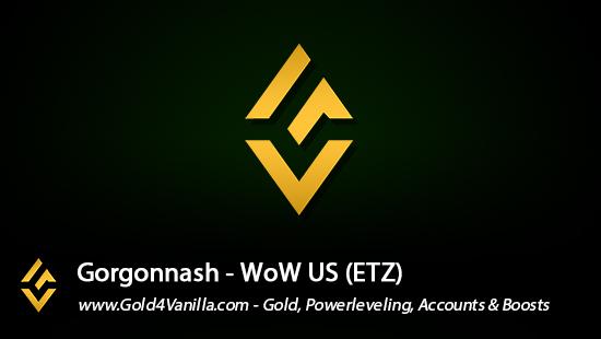 Realm Information for Gorgonnash US - WoW Shadowlands / BFA -