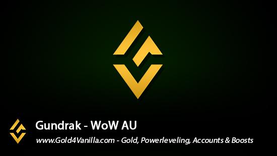 Realm Information for Gundrak AU - WoW Shadowlands / BFA -