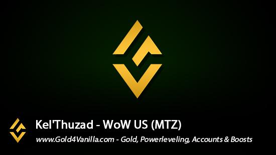 Realm Information for Kel'Thuzad US - WoW Shadowlands / BFA -