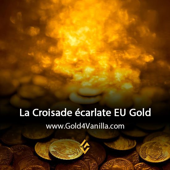 Gold, Power Leveling, Boosts, PvP, Quests and Achievements for La Croisade écarlate EU Realm - WoW Shadowlands / BFA - High PoP
