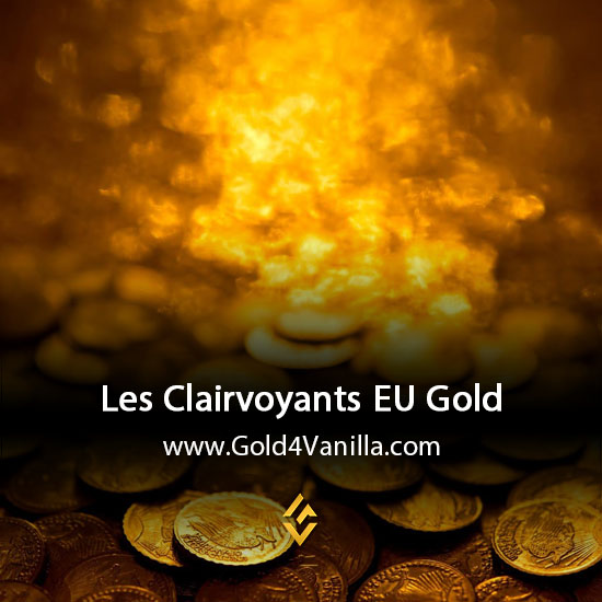 Gold, Power Leveling, Boosts, PvP, Quests and Achievements for Les Clairvoyants EU Realm - WoW Shadowlands / BFA - High PoP