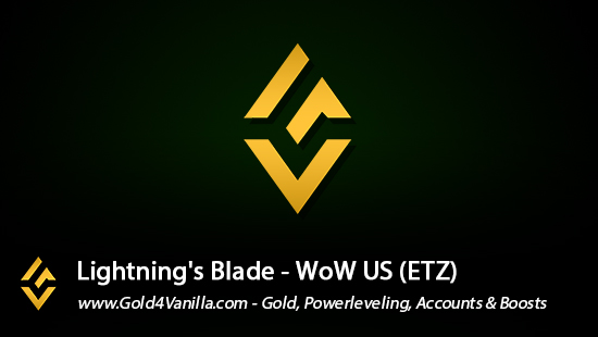 Realm Information for Lightning's Blade US - WoW Shadowlands / BFA -